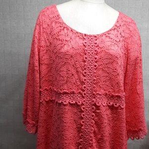 Alfani Pink Dress - EUC